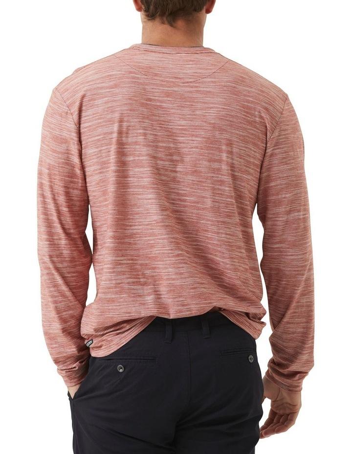 Long Sleeve Claremont T-shirt - Rust image 3