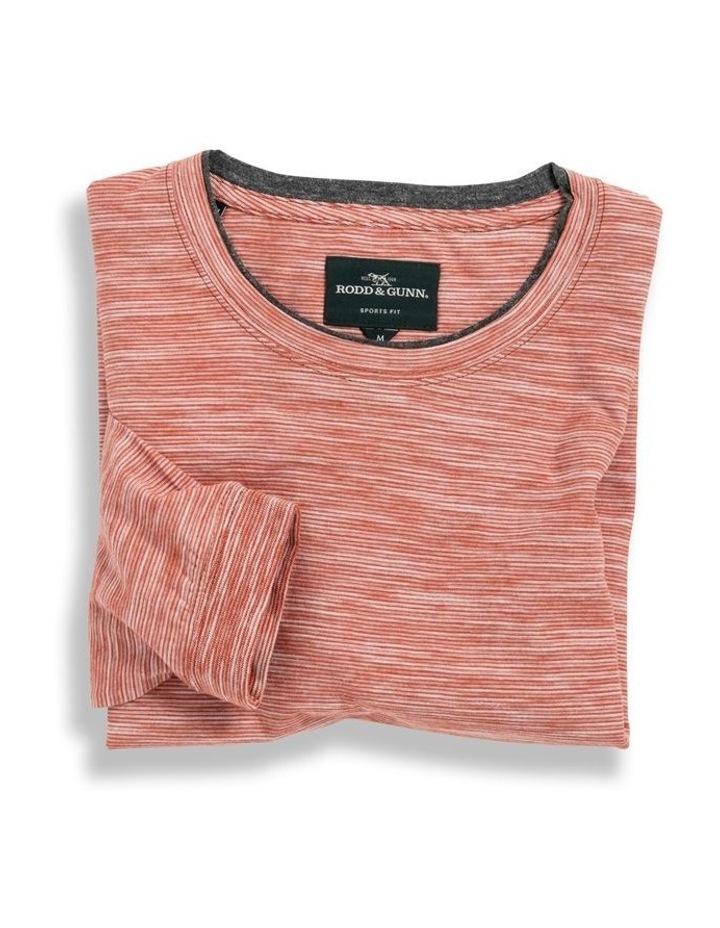 Long Sleeve Claremont T-shirt - Rust image 4