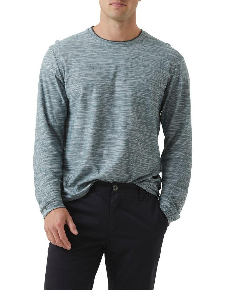 Long Sleeve Claremont T-shirt - Evergreen image 1