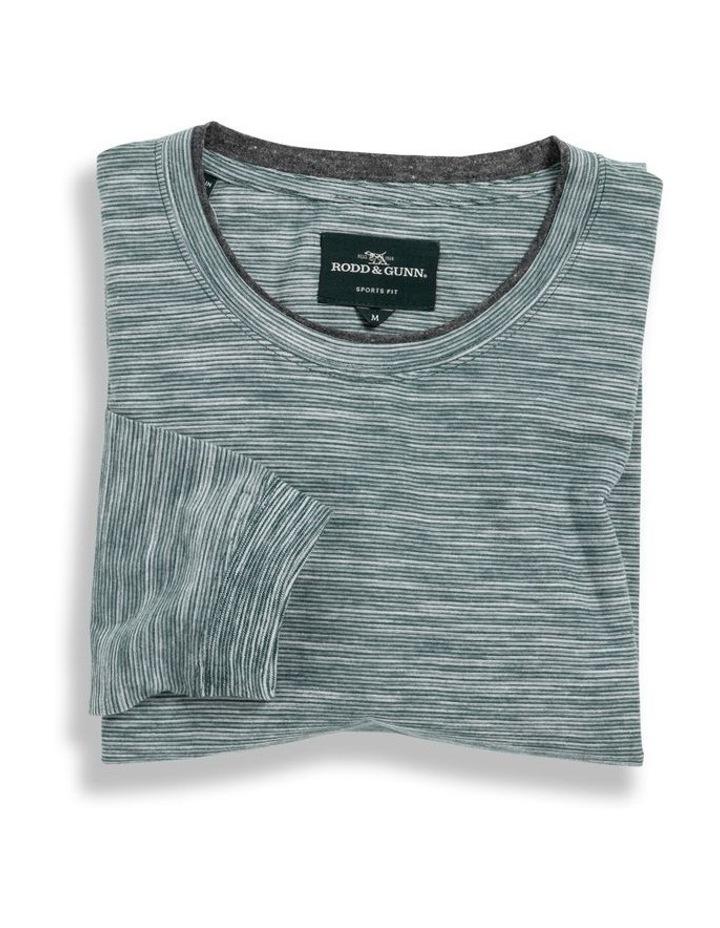 Long Sleeve Claremont T-shirt - Evergreen image 4