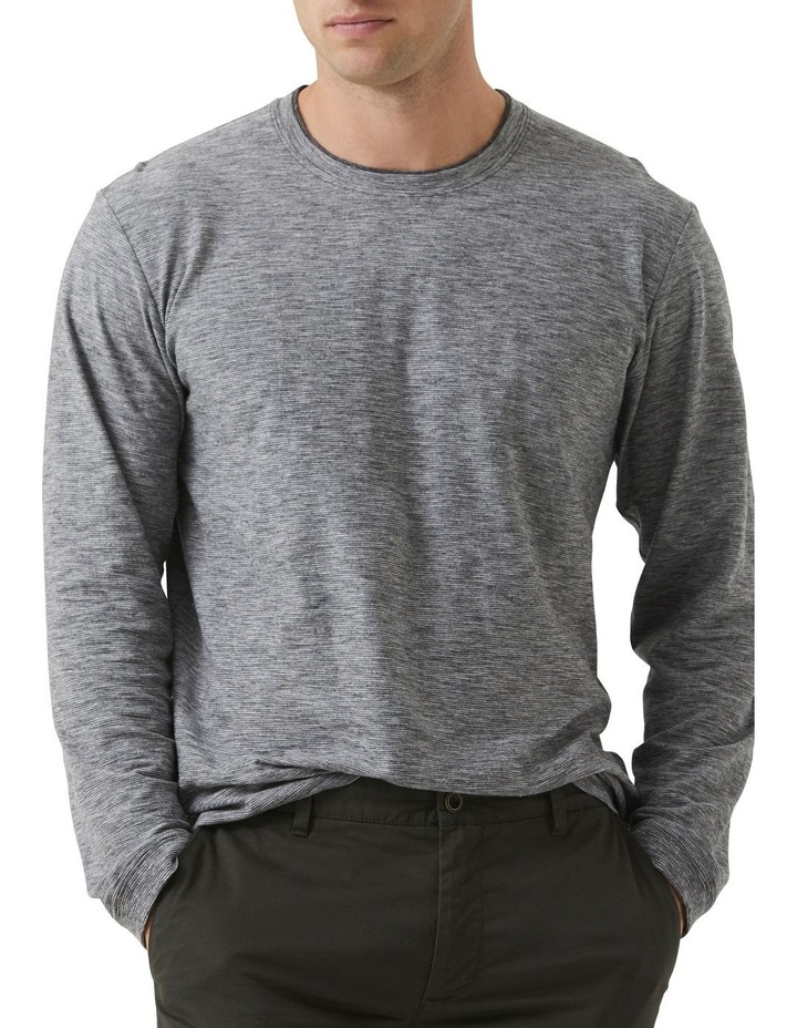 Long Sleeve Claremont T-shirt - Lead image 1