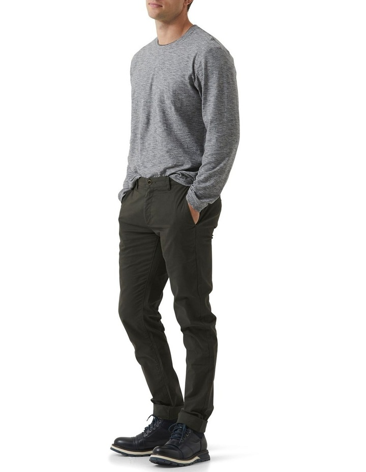 Long Sleeve Claremont T-shirt - Lead image 2