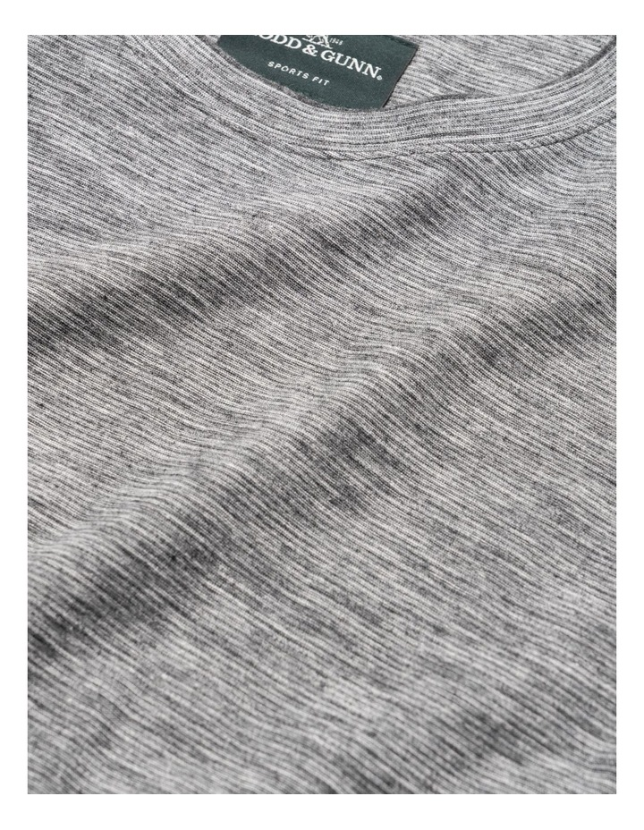 Long Sleeve Claremont T-shirt - Lead image 5