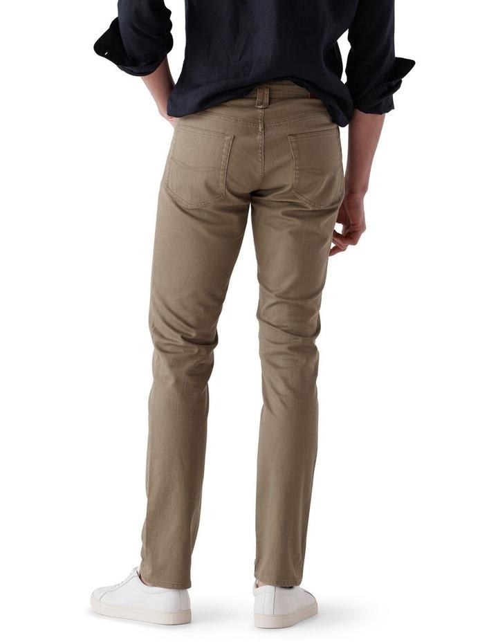 Whitlaker Straight Fit Jean Regular Leg - Army image 3
