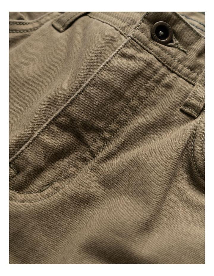 Whitlaker Straight Fit Jean Regular Leg - Army image 5