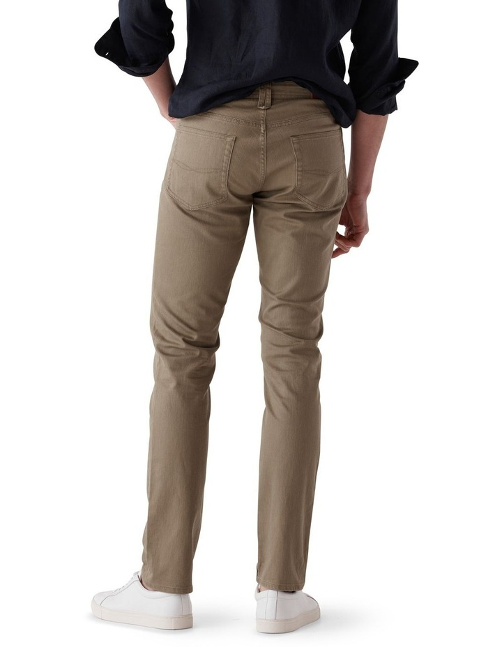 Whitlaker Straight Fit Jean Short Leg - Army image 3
