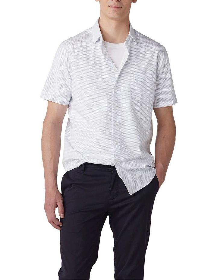 Beethams Short Sleeve Shirt - Snow image 1