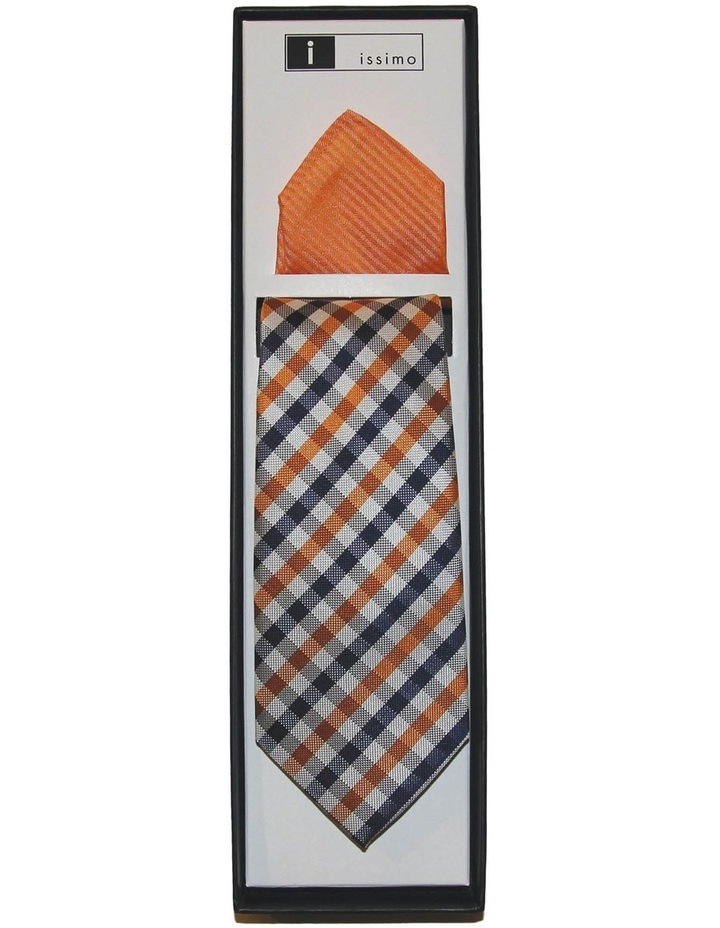 Orange Tie And Hank Set image 1