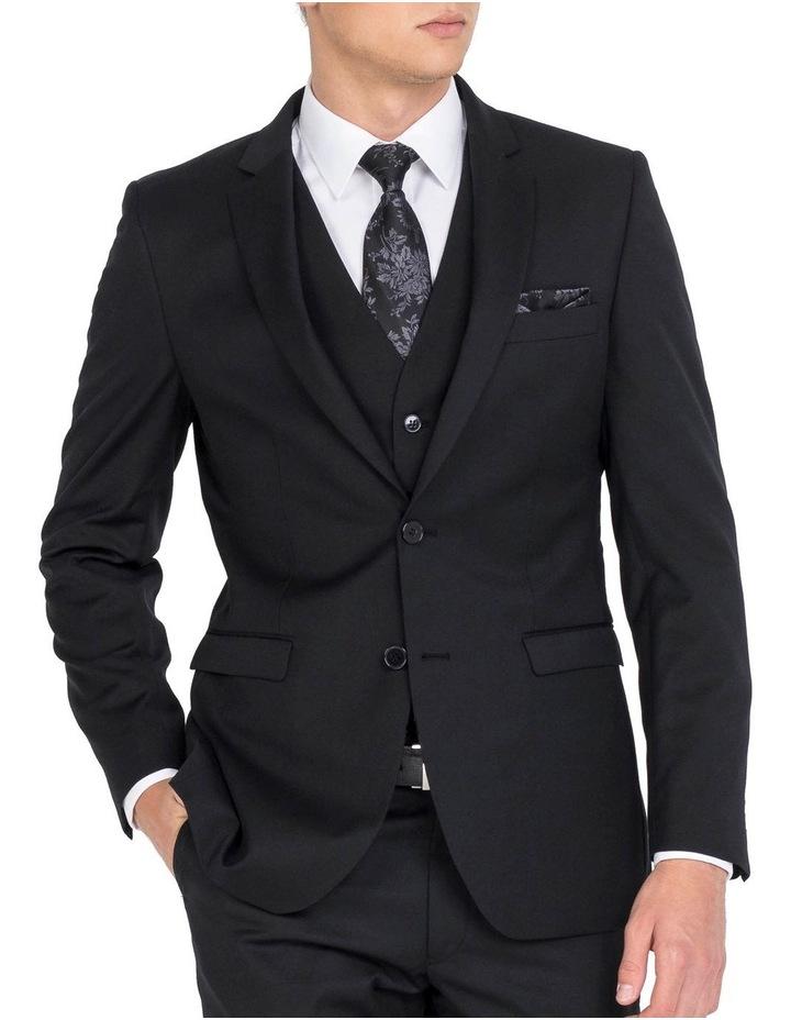 Black Formal Jacket - Long image 1
