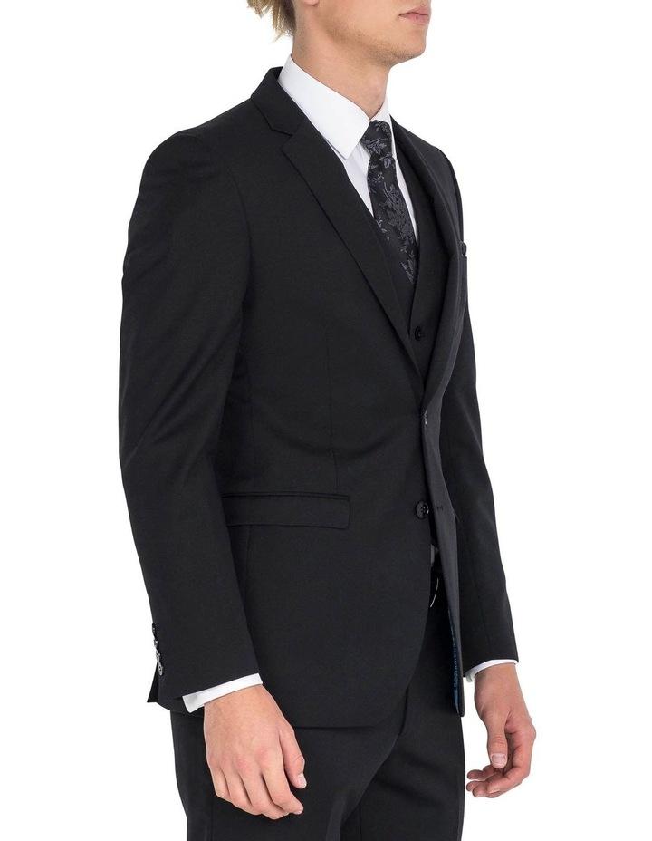 Black Formal Jacket - Long image 3