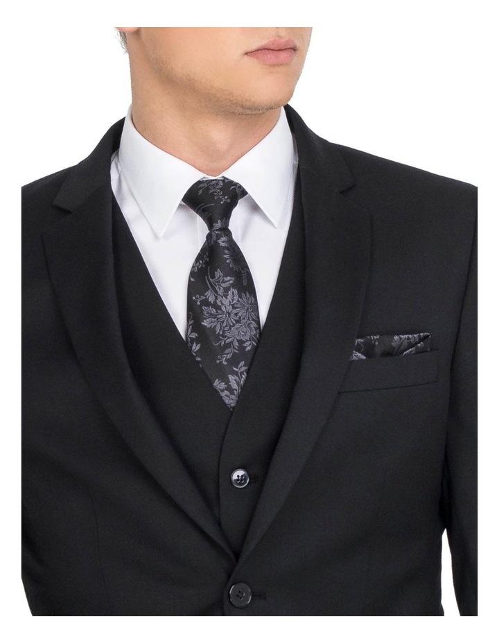 Black Formal Jacket - Long image 4