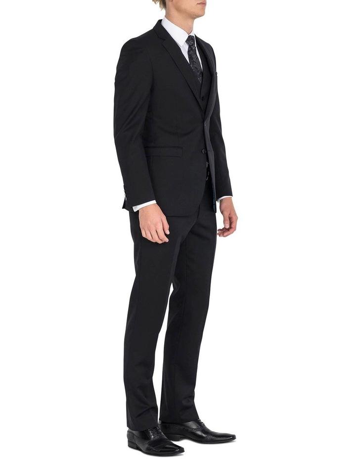 Black Formal Jacket - Long image 5