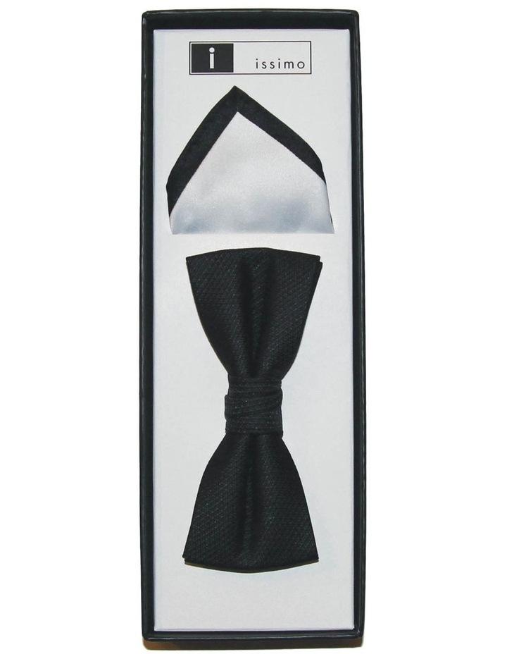 Black & White Tie And Hank Set image 1