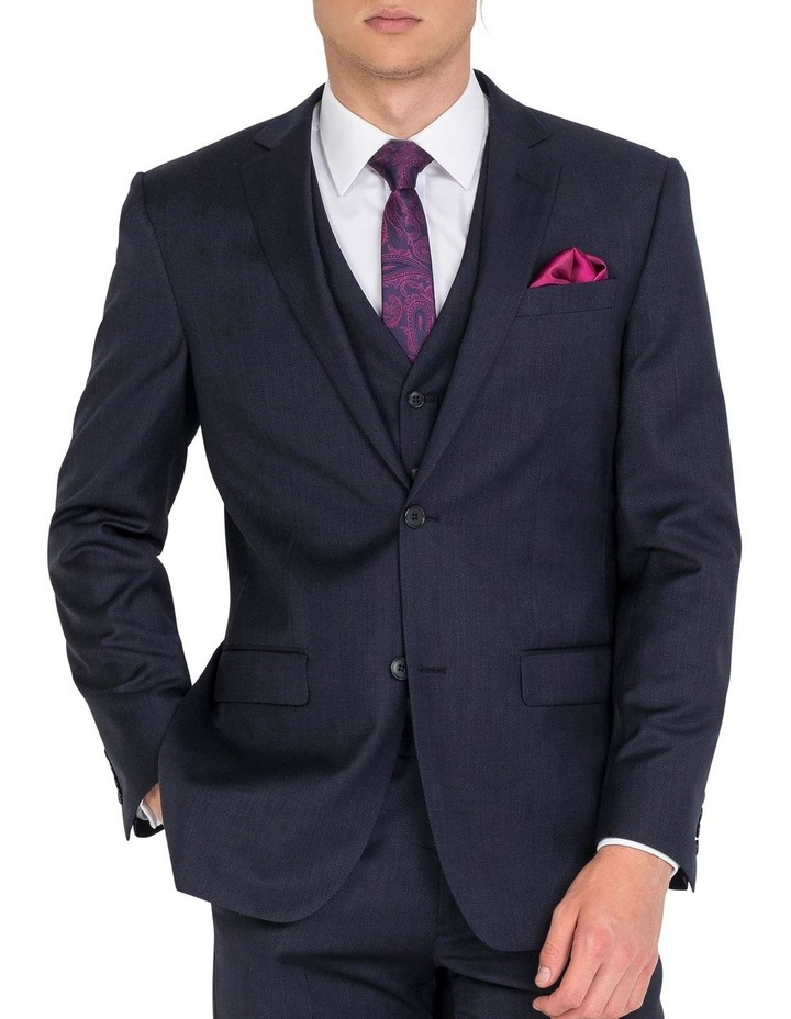 Navy Formal Suit Jacket image 1