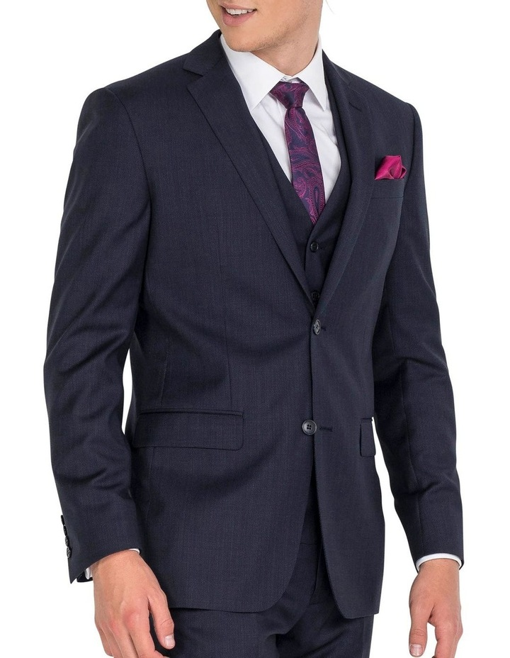 Navy Formal Suit Jacket image 3