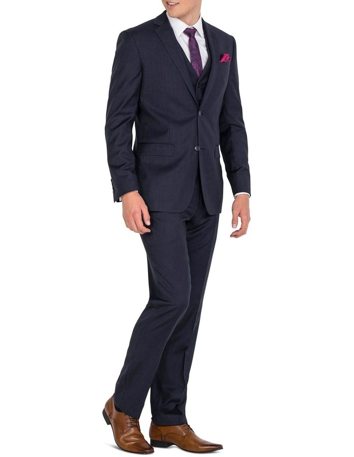 Navy Formal Suit Jacket image 5