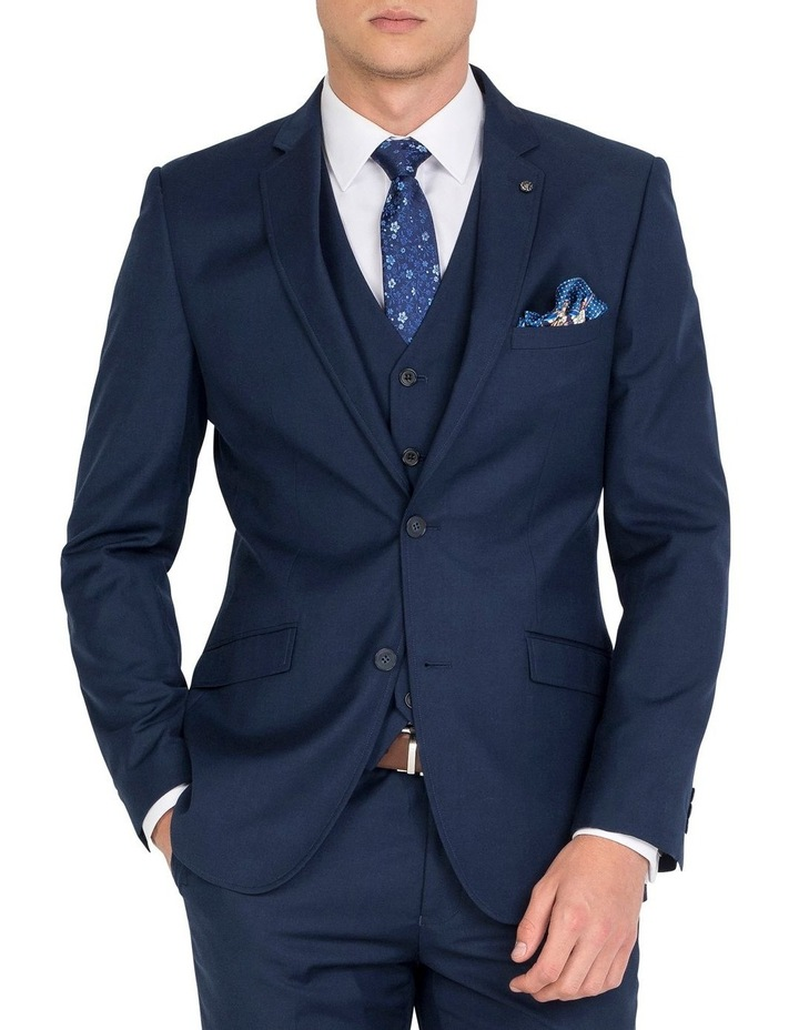 Tailored Navy Jacket- Short image 1