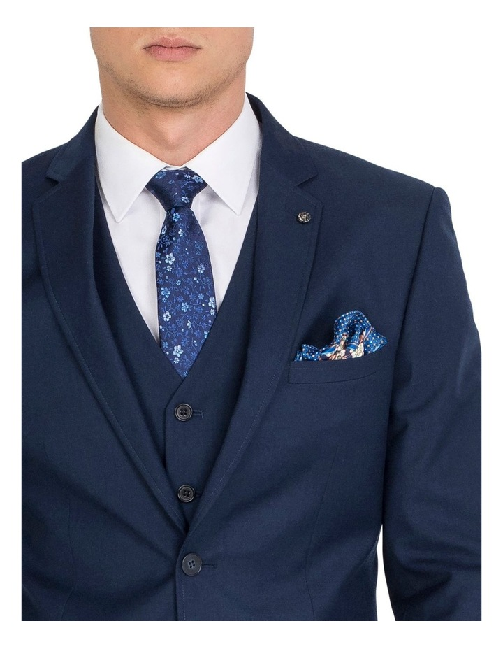 Tailored Navy Jacket- Short image 3