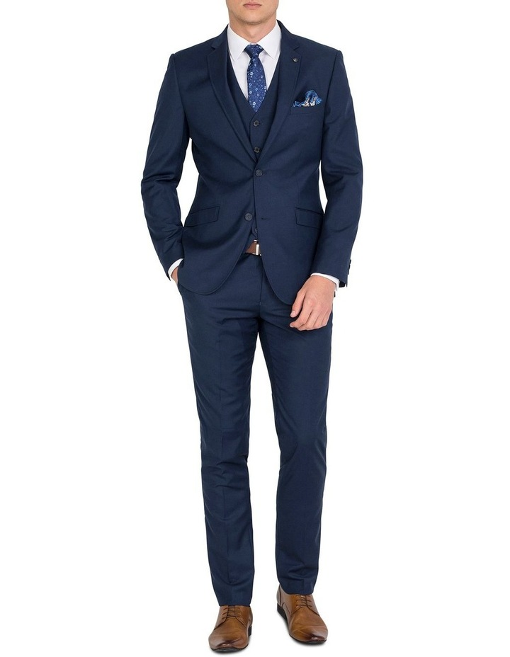 Tailored Navy Jacket- Short image 4