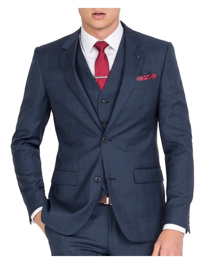 Unique Soft Blue Tonal Check Jacket - Regular image 1