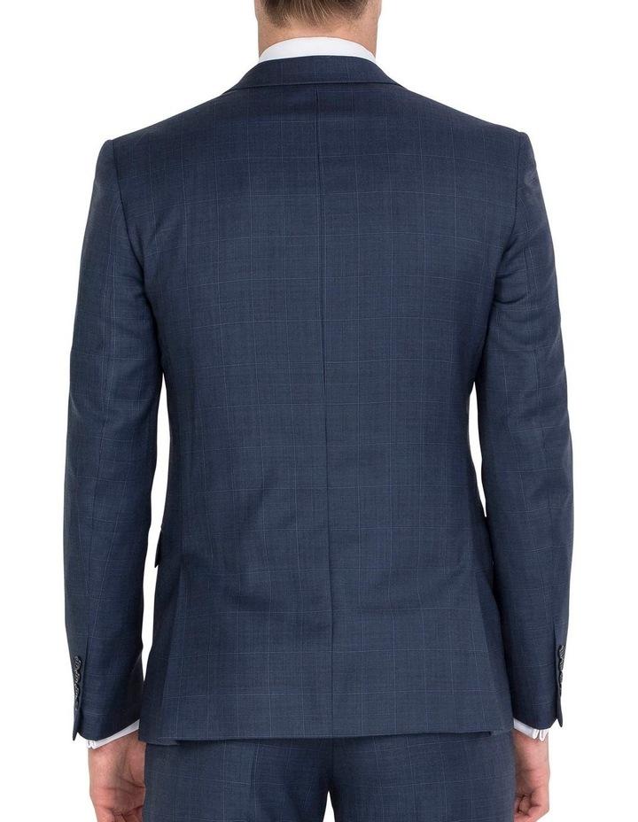 Unique Soft Blue Tonal Check Jacket - Regular image 2
