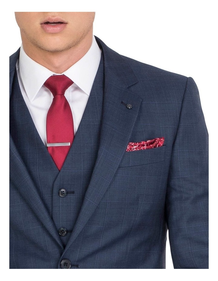 Unique Soft Blue Tonal Check Jacket - Regular image 4