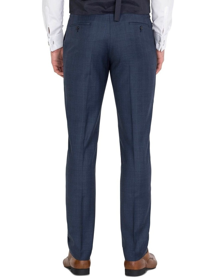 Blue Flat Front Trouser image 2