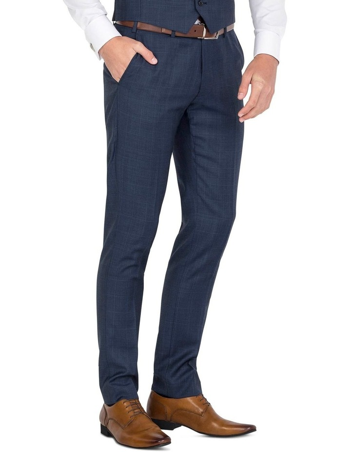 Blue Flat Front Trouser image 3