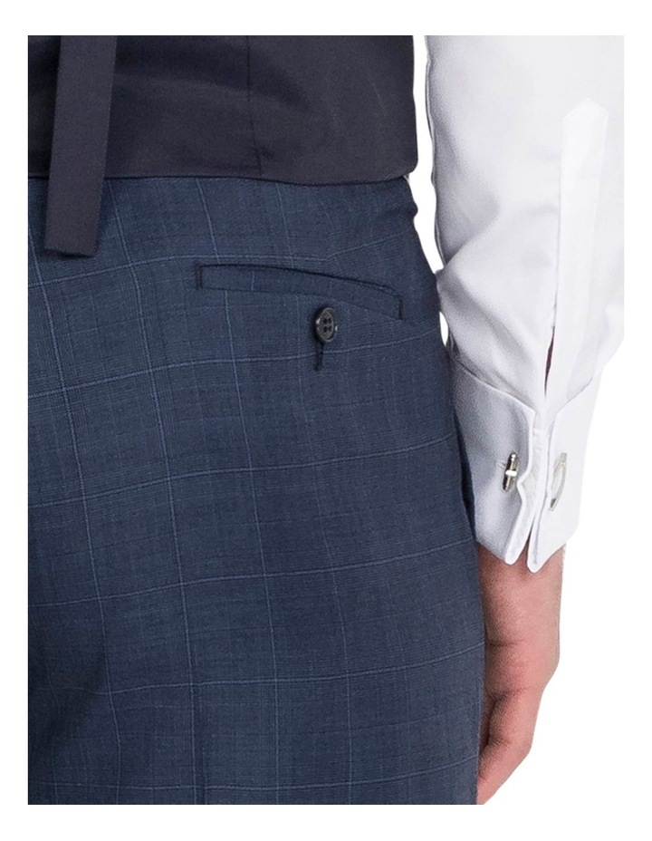 Blue Flat Front Trouser image 4