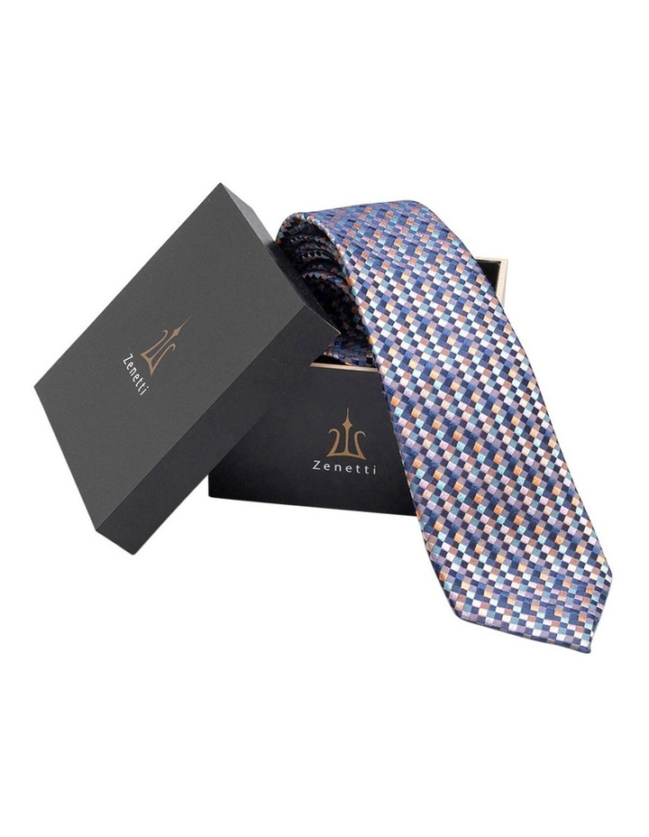 Navy Silk Tie Set image 1
