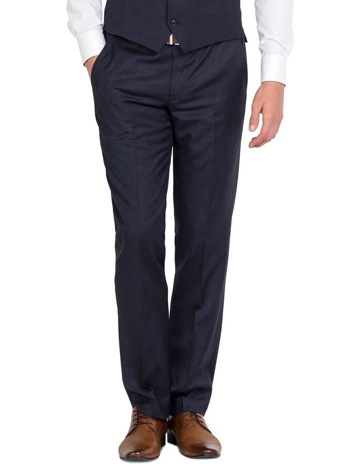 Pure Wool Navy Trouser image 1