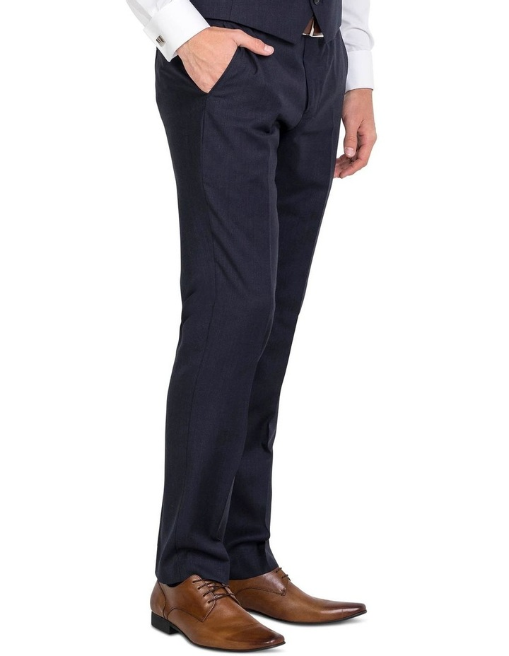 Pure Wool Navy Trouser image 3