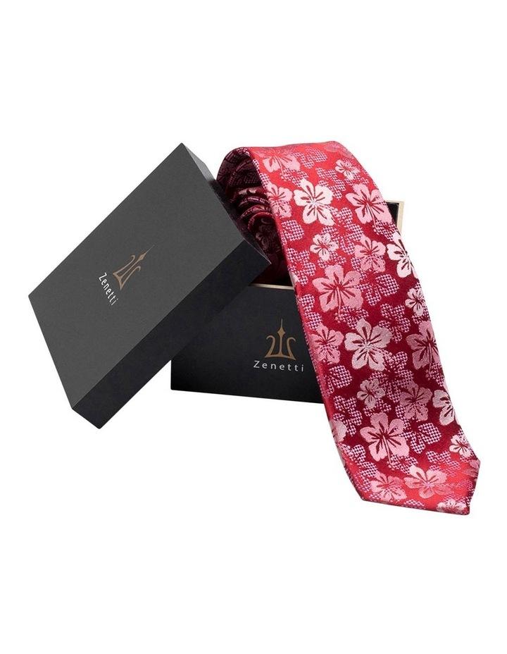 Scarlet Silk Tie & Hank Box Set image 1