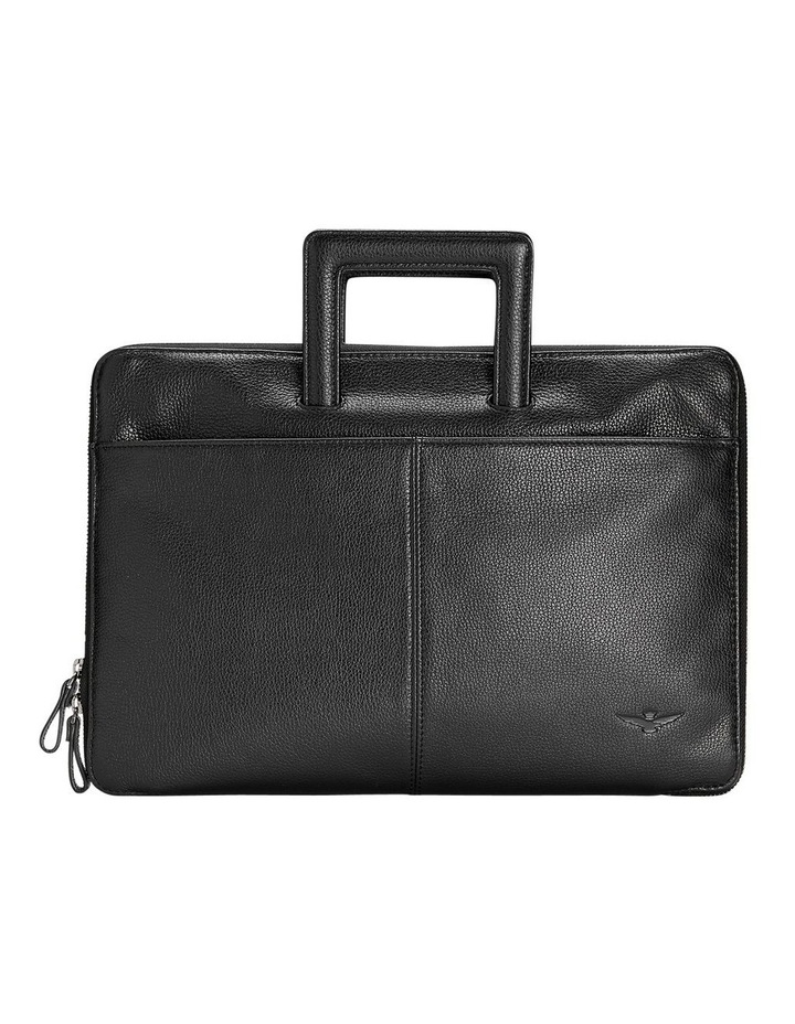 Montoro Black Slim Briefcase image 1