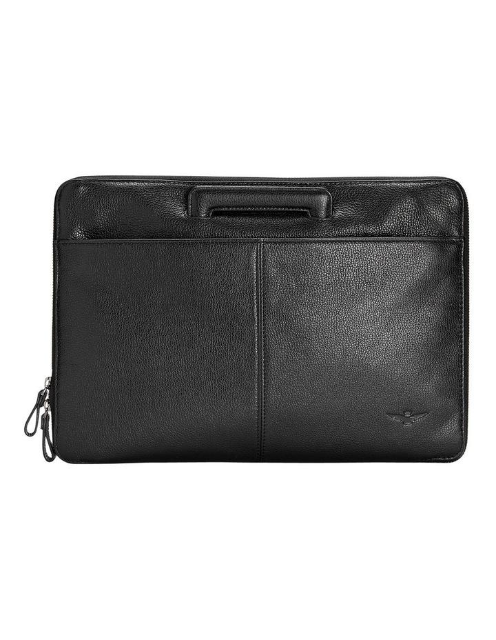 Montoro Black Slim Briefcase image 2