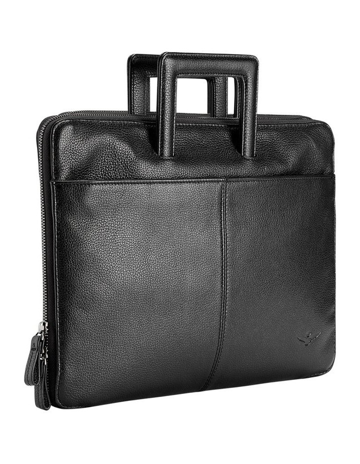 Montoro Leather Slim Briefcase image 3