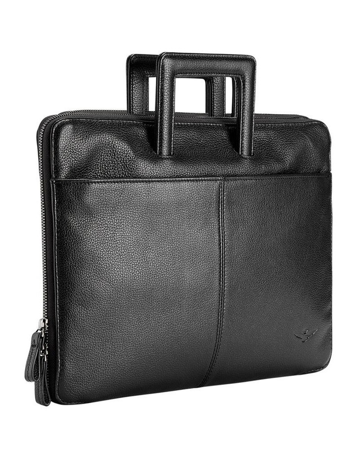 Montoro Black Slim Briefcase image 3