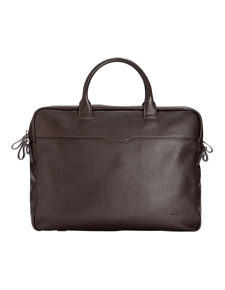 Montoro Brown Briefcase image 1
