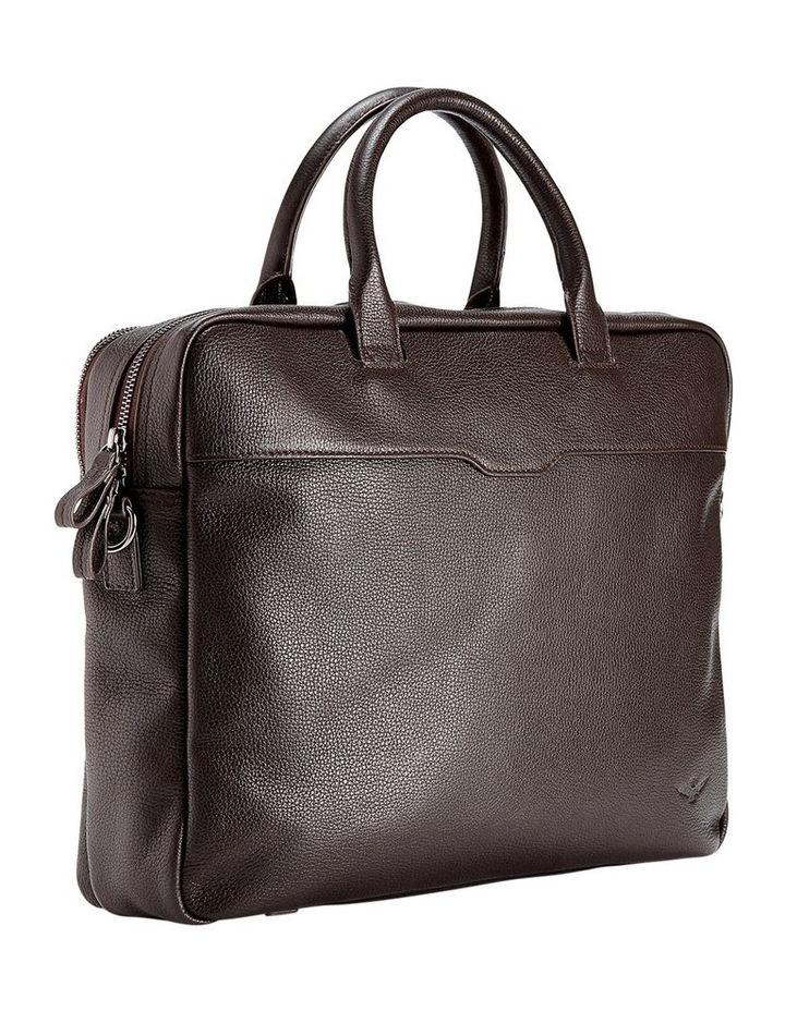 Montoro Brown Briefcase image 3