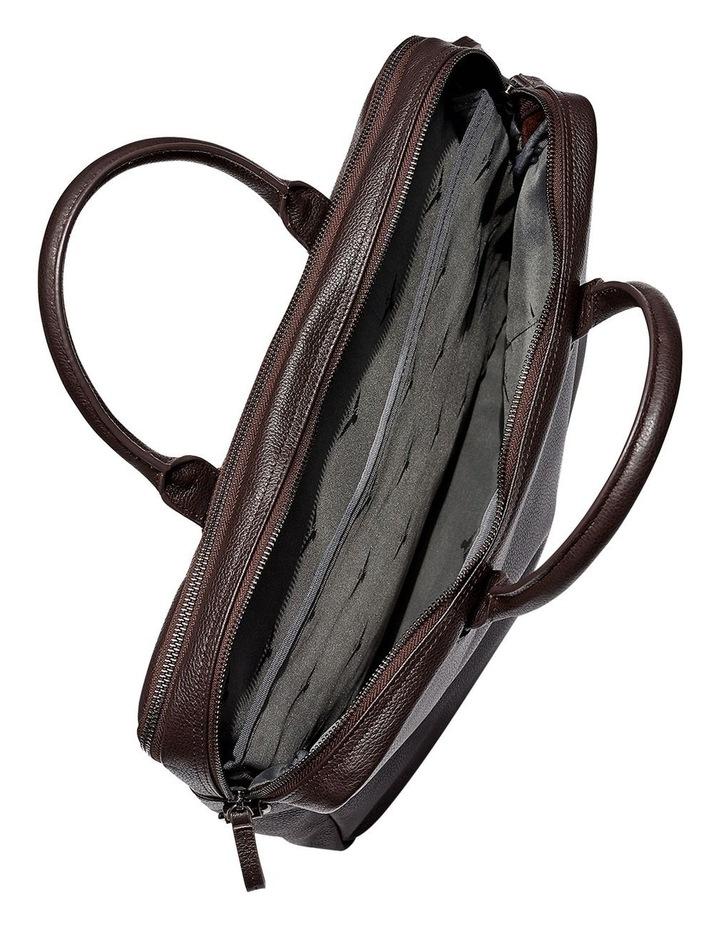 Montoro Brown Briefcase image 4