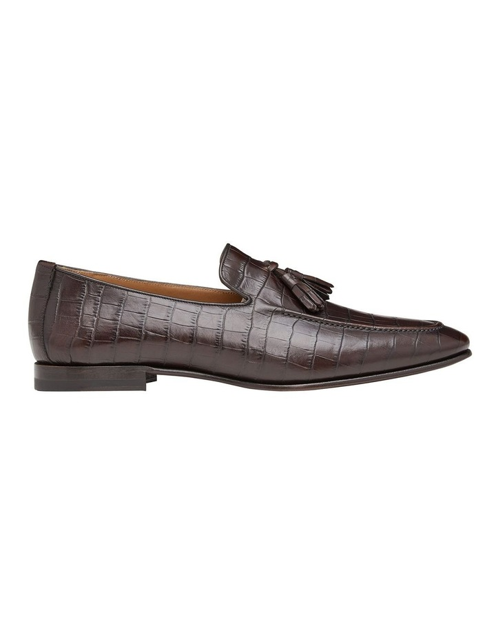 Connery Embossed Leather Loafers image 1
