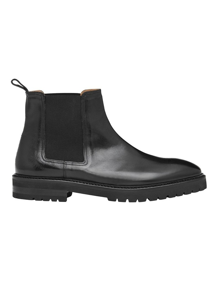 Kean Calfskin Leather Ankle Boots image 1