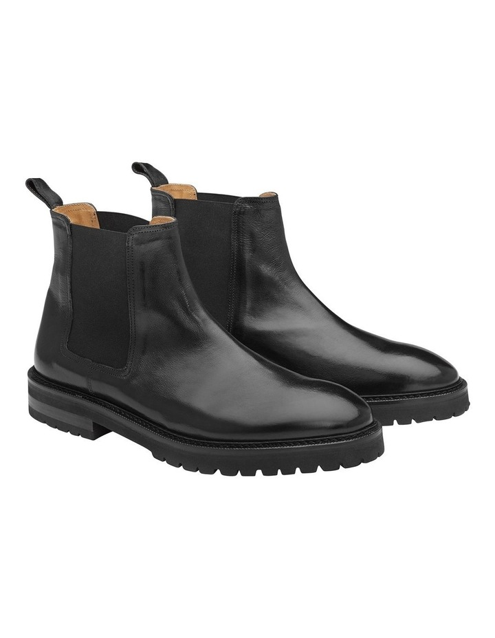 Kean Calfskin Leather Ankle Boots image 3