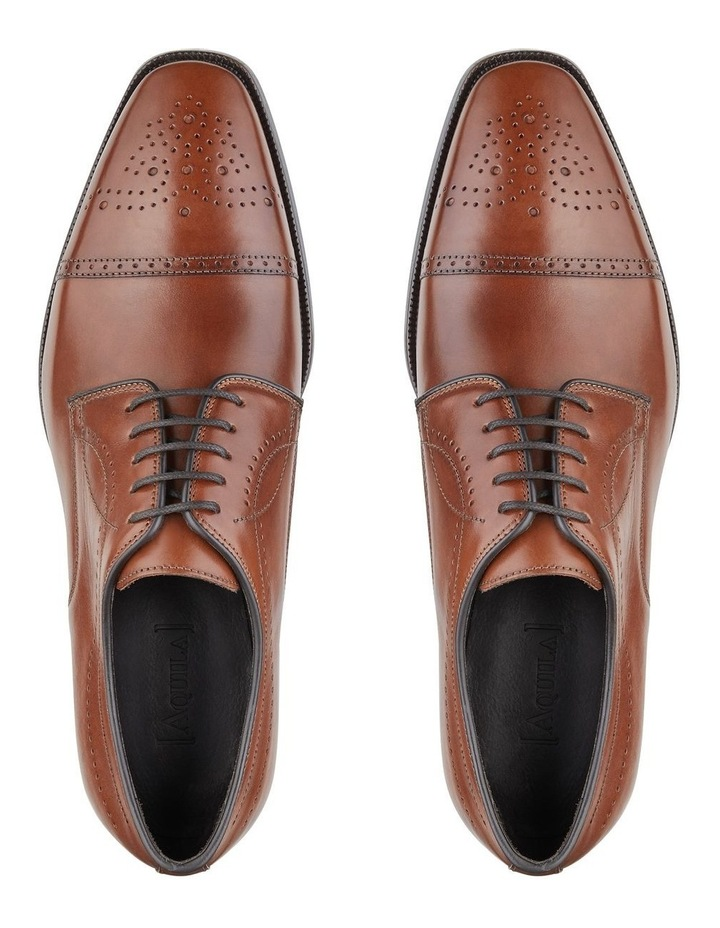 Lillard Calfskin Leather Derby Shoes image 4