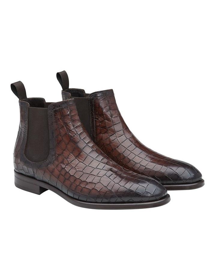 Lippi Embossed Calfskin Chelsea Boots image 3