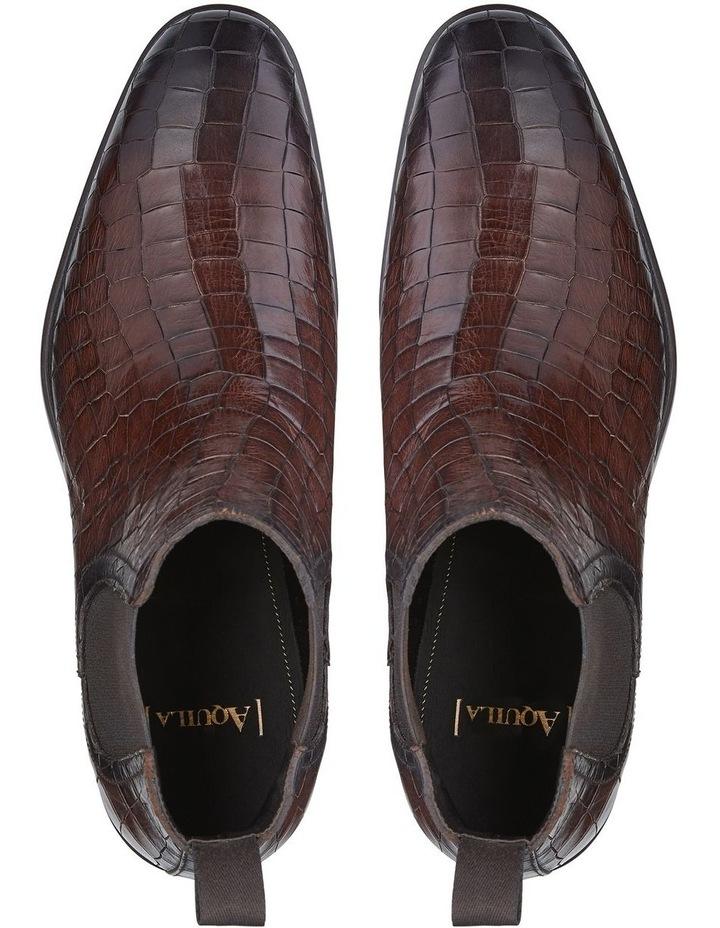 Lippi Embossed Calfskin Chelsea Boots image 4