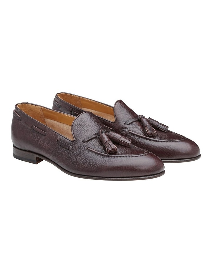 Lyons Embossed Leather Loafers image 3