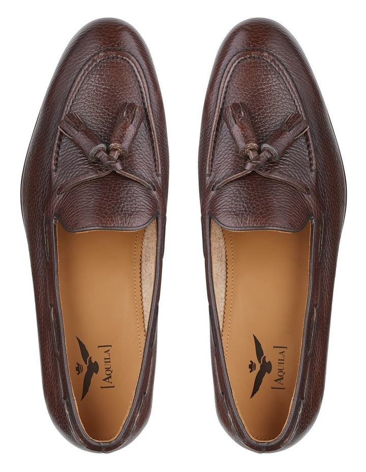 Lyons Embossed Leather Loafers image 4
