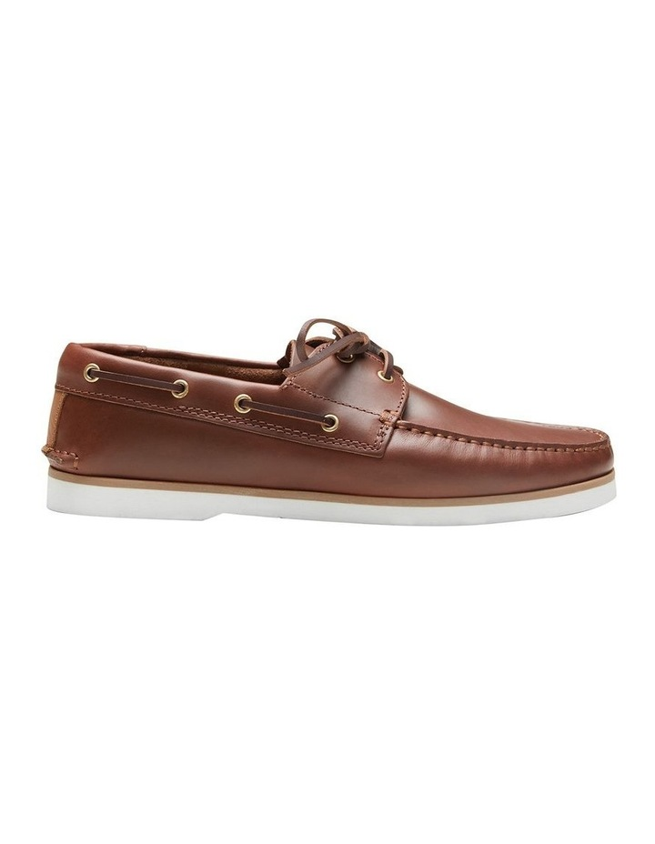 Port Pull Up Cow Boat Shoes image 1