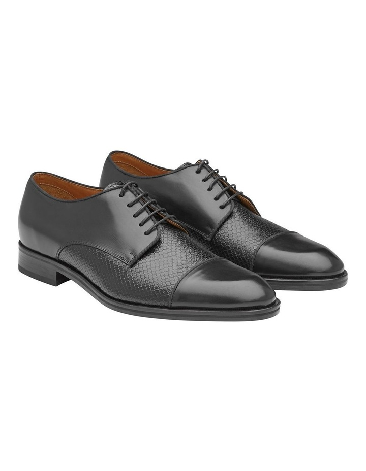 Redford Embossed Calfskin Derby Shoes image 3
